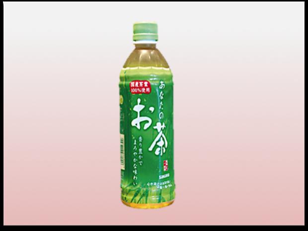 ペットボトルお茶 500ml